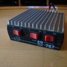Radios antiguas: CTE 767 MOBIL HF POWER AMPLIFIER. Lote 42894010