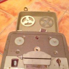 Radios antiguas: MALETA MAGNETOFONO DE CINTA MARCA INGRA CON TODOS LOS COMPONENTES DE 35CMX35CM. Lote 44776358