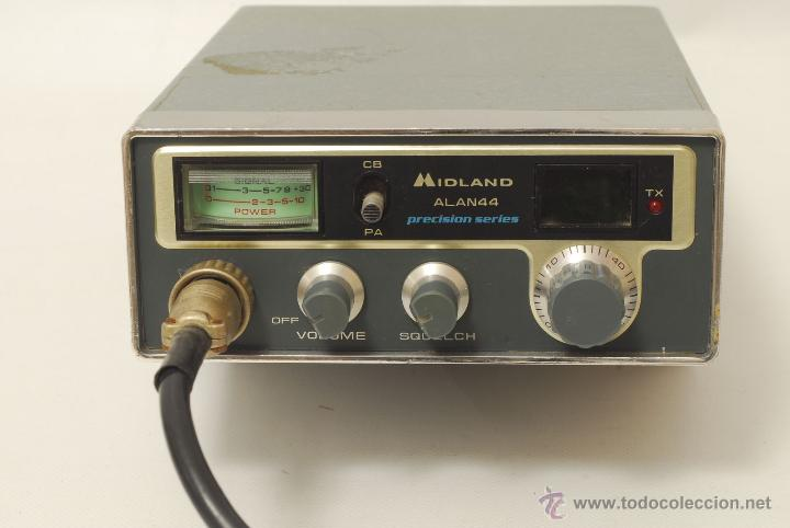 Radios antiguas: Emisora Midland Alan 44. - Foto 2 - 45410609