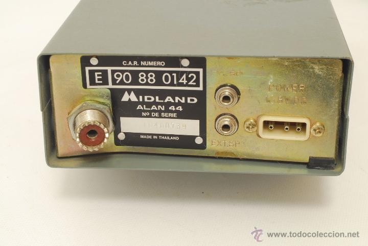 Radios antiguas: Emisora Midland Alan 44. - Foto 6 - 45410609