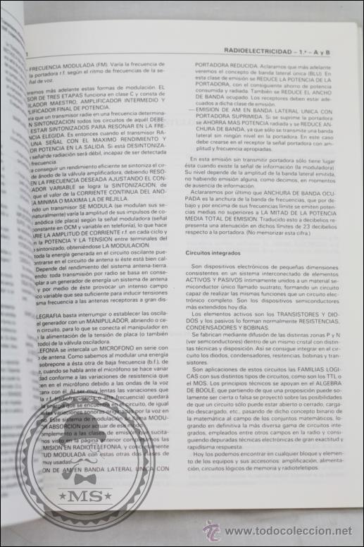 Radios antiguas: Libro Apuntes para Exámenes de Radioaficionados - Edita URE - Año 1987 - Foto 2 - 45842487