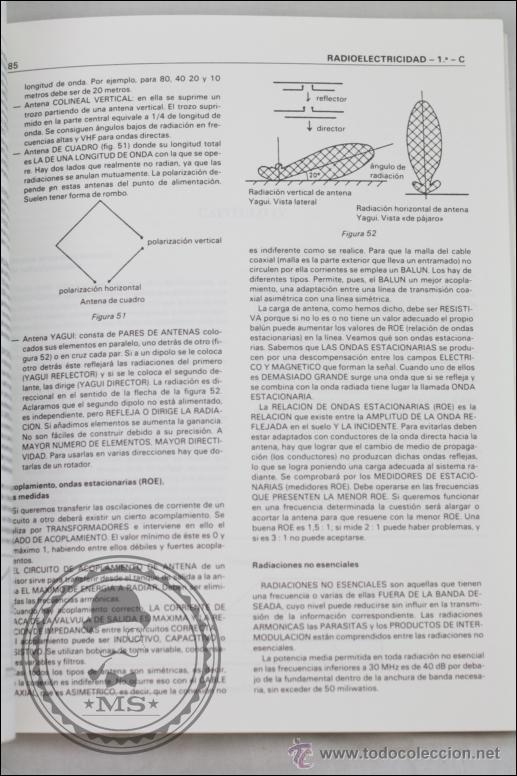 Radios antiguas: Libro Apuntes para Exámenes de Radioaficionados - Edita URE - Año 1987 - Foto 3 - 45842487