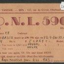 Radios antiguas: POSTAL RADIOAFICIONADO - RADIO - (26559). Lote 46130482