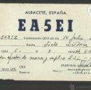 Radios antiguas: POSTAL RADIOAFICIONADO - RADIO - (26573). Lote 46130591