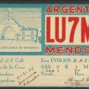 Radios antiguas: POSTAL RADIOAFICIONADO - RADIO - (26576). Lote 46130609