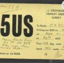 Radios antiguas: POSTAL RADIOAFICIONADO - RADIO - (26578). Lote 46130620