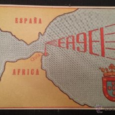 Radios antiguas: TARJETA RADIOAFICIONADO CEUTA ESPAÑA. Lote 46893084