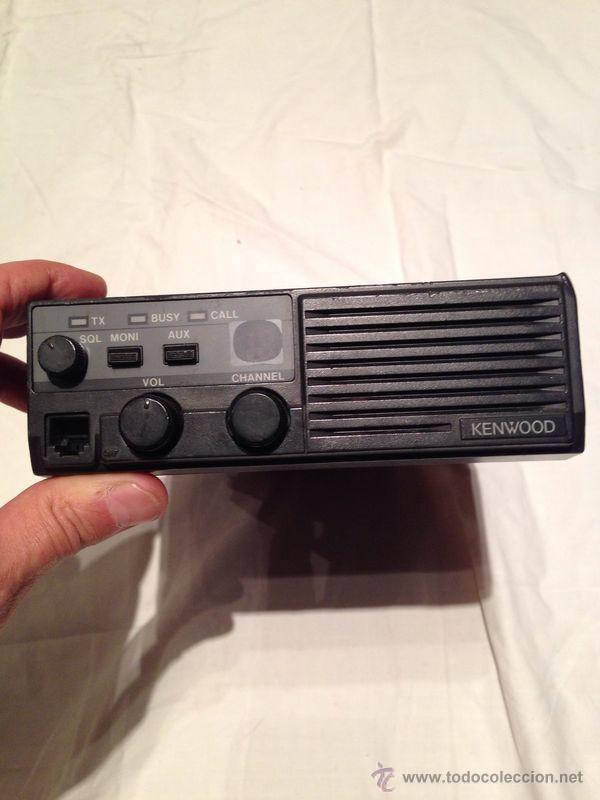 Radios antiguas: EMISORA DE RADIOAFICIONADO KENWOOD MODELO TK 810 - Foto 2 - 46966422