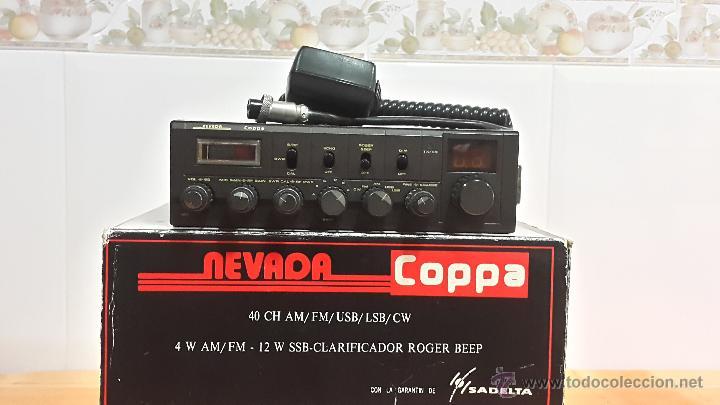 EMISORA DE 27 (LA MÍTICA NEVADA COPPA SADELTA ) (Radios, Gramófonos, Grabadoras y Otros - Radioaficionados)