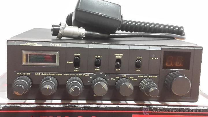 Radios antiguas: EMISORA DE 27 (LA MÍTICA NEVADA COPPA SADELTA ) - Foto 2 - 48416113