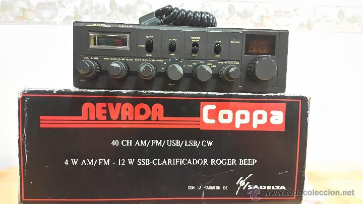 Radios antiguas: EMISORA DE 27 (LA MÍTICA NEVADA COPPA SADELTA ) - Foto 8 - 48416113