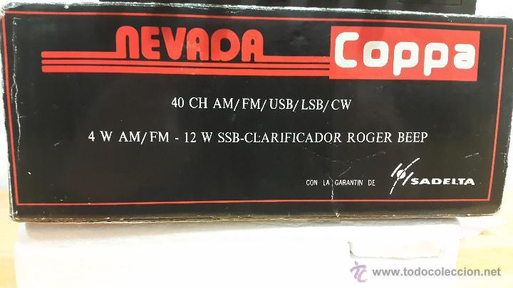 Radios antiguas: EMISORA DE 27 (LA MÍTICA NEVADA COPPA SADELTA ) - Foto 9 - 48416113