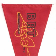 Radios antiguas: RADIO BRT BANDERIN COLECCION RADIO BRUXELLES. Lote 49847553