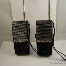 Rádios antigos: TELECSON WALKIE TALKIE 5 TRANZISTOR 15-005B. Lote 50476467