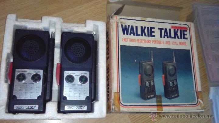 WALKIE TALKIE - CELECT 2000 - MODELO 602 (Radios, Gramófonos, Grabadoras y Otros - Radioaficionados)