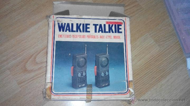 Radios antiguas: WALKIE TALKIE - CELECT 2000 - MODELO 602 - Foto 2 - 51507689
