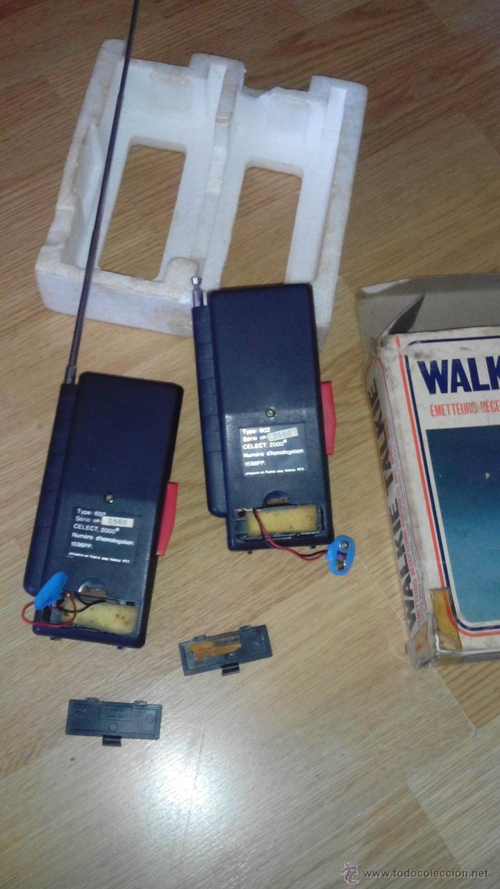 Radios antiguas: WALKIE TALKIE - CELECT 2000 - MODELO 602 - Foto 3 - 51507689