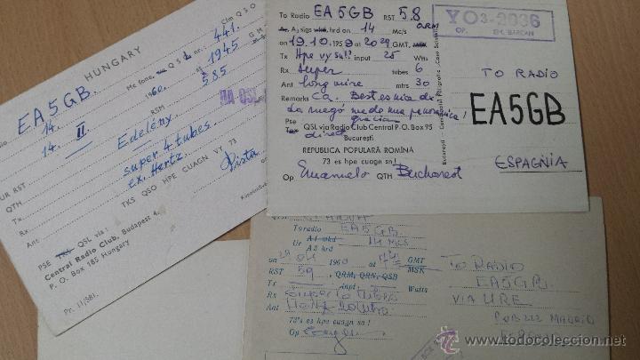 Radios antiguas: ANTIGUAS TARJETAS RADIO AFICIONADO RUMANIA - Foto 2 - 52388256