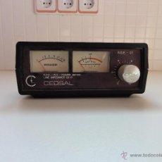 Radios antiguas: MEDIDOR DE ESTACIONARIAS Y WATÍMETRO HF.. Lote 52413596