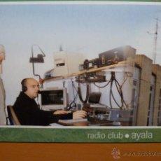 Radios antiguas: ALAVA RADIO CLUB AYALA TARJETA RADIO AFICIONADOS EA2RCA 07.ABR.2005 . Lote 53110180