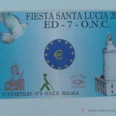 Radios antiguas: MALAGA TARJETA RADIO AFICIONADOS ED7ONC 08.12.2000. Lote 53123535