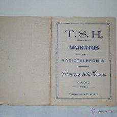 Radios antiguas: PRINCIPALES EMISORAS ESTACIONES . Lote 53811588