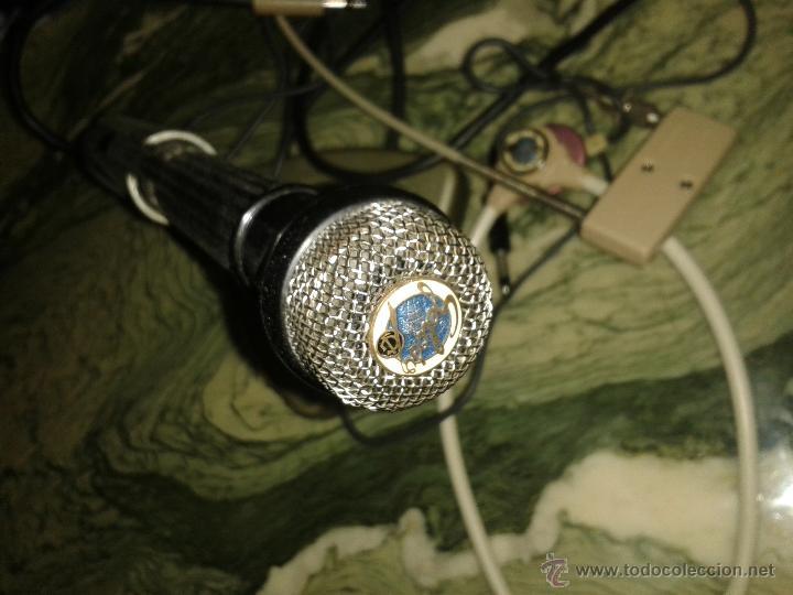 Radios antiguas: lote de microfono y auriculares de antigua emisora de radio es de la marca geloso - Foto 5 - 54066543