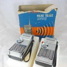 Radios antiguas: WALKIE TALKIES SOLID STATE PARTY 7 TRANSISTOR. Lote 56928462