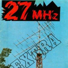 Radios antiguas: 27 MHZ, REVISTA RADIO BANDA CIUDADANA, CB, Nº 9, 1980, 40 PAG. 19X24 CM.. Lote 56969143