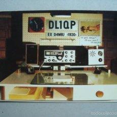 Radios antiguas: TARJETA POSTAL QSL RADIOAFICIONADOS 1983, WEST GERMANY - ALEMANIA OCCIDENTAL. Lote 57611033