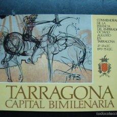 Radios antiguas: POSTAL QSL TARRAGONA CAPITAL BIMILENARIA - 1973-75 - NUEVA - PINTURA DE SALVADOR DALI. Lote 57857802