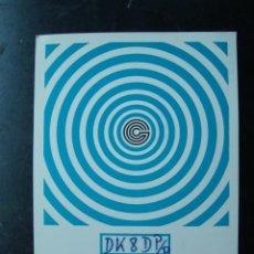 Radios antiguas: TARJETA POSTAL QSL RADIOAFICIONADOS, GELSENKIRCHEN, ALEMANIA 1976 . Lote 58214131
