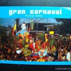 Radios antiguas: TARJETA POSTAL QSL RADIOAFICIONADOS, GRAN CARNAVAL PLATJA D´ARO, GIRONA, ESPAÑA 1982. Lote 58421685