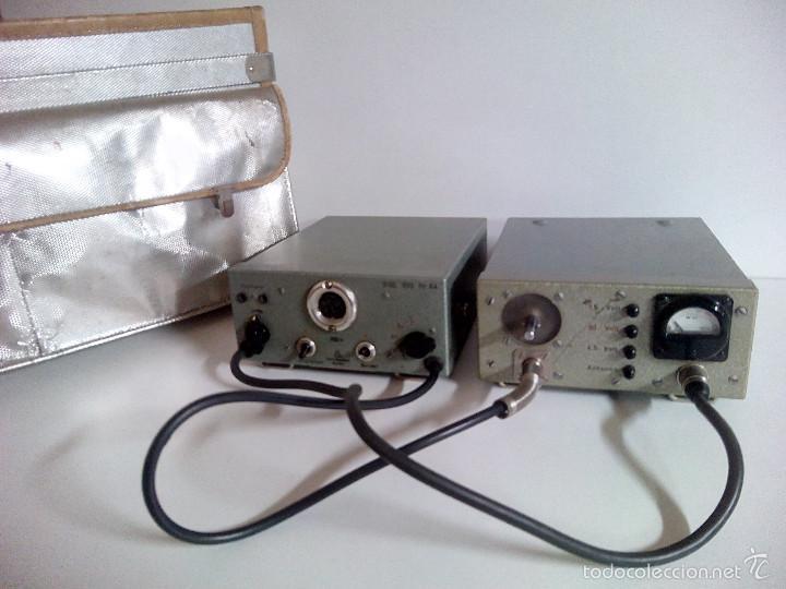 EMISORA PORTATIL VINTAGE FM SENDER RSE 300. ELEKTRO APPARATEBAU MUNCHEN (Radios, Gramófonos, Grabadoras y Otros - Radioaficionados)
