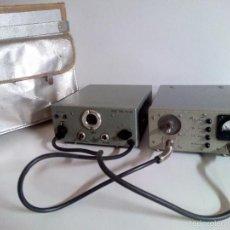 Radios antiguas: EMISORA PORTATIL VINTAGE FM SENDER RSE 300. ELEKTRO APPARATEBAU MUNCHEN. Lote 194300457