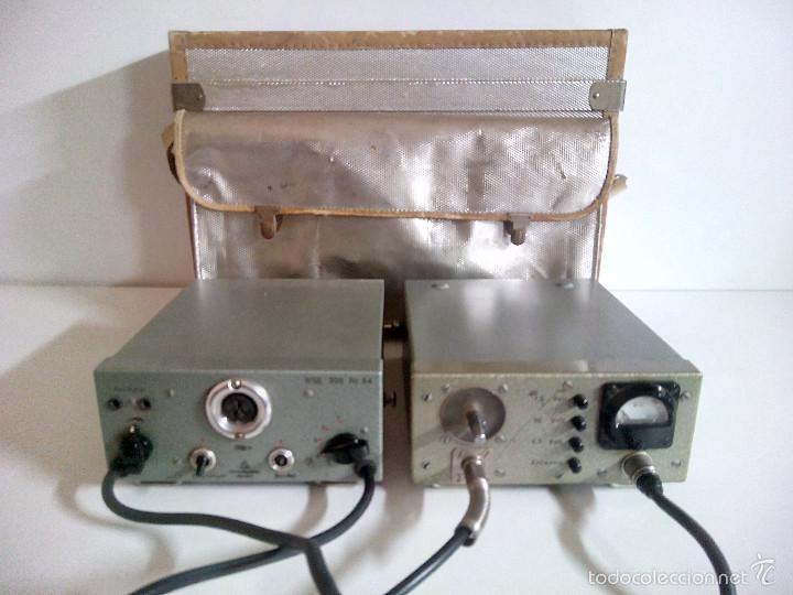 Radios antiguas: Emisora portatil vintage FM SENDER RSE 300. ELEKTRO APPARATEBAU MUNCHEN - Foto 4 - 194300457