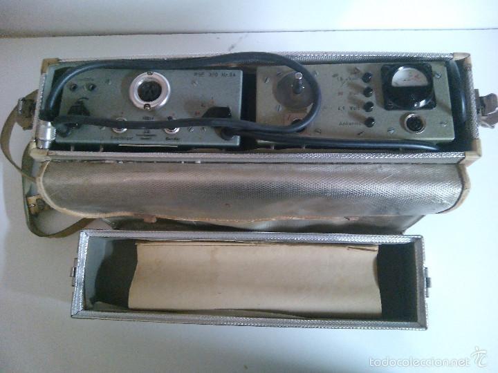 Radios antiguas: Emisora portatil vintage FM SENDER RSE 300. ELEKTRO APPARATEBAU MUNCHEN - Foto 5 - 194300457