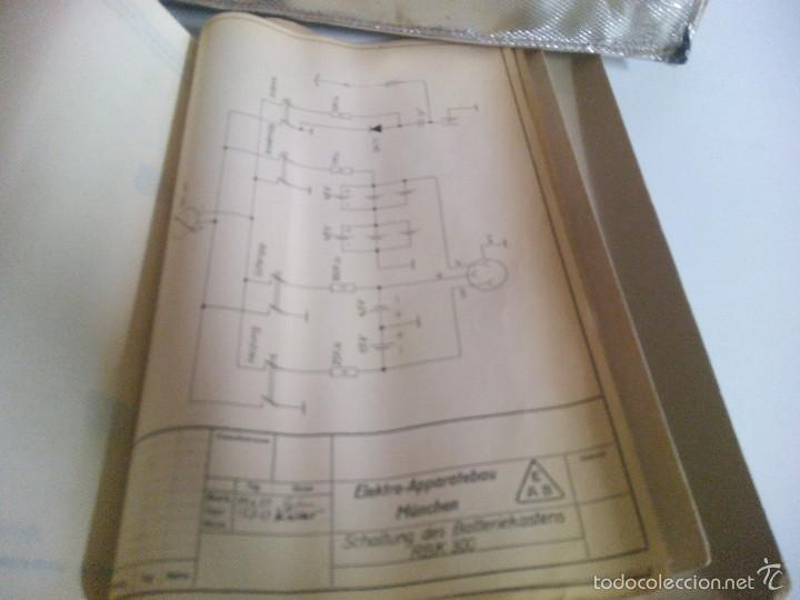 Radios antiguas: Emisora portatil vintage FM SENDER RSE 300. ELEKTRO APPARATEBAU MUNCHEN - Foto 10 - 194300457