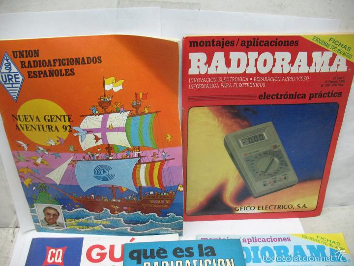 Radios antiguas: Lote de 4 revistas y libro de radioaficción - Foto 2 - 59814948
