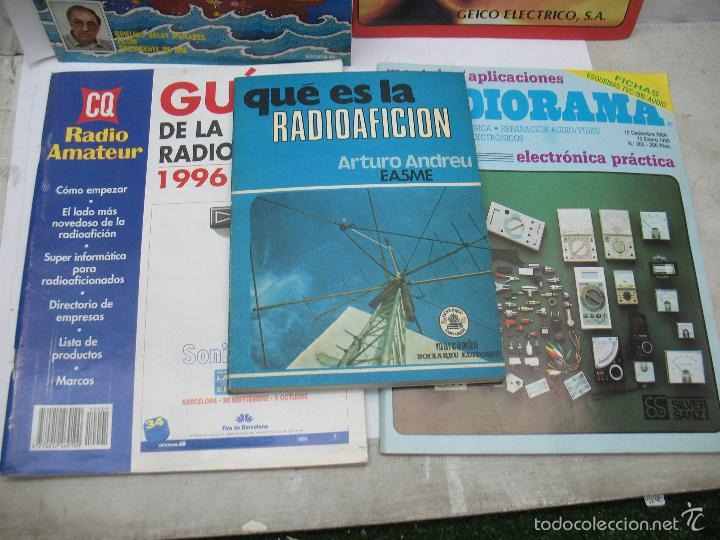 Radios antiguas: Lote de 4 revistas y libro de radioaficción - Foto 3 - 59814948