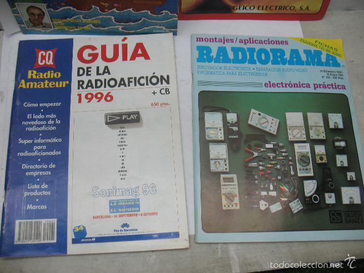 Radios antiguas: Lote de 4 revistas y libro de radioaficción - Foto 4 - 59814948