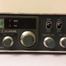 Radios antiguas: EMISORA CB MIDLAND ALAN 48. Lote 95731488