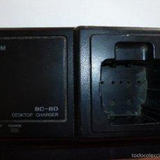 Radios antiguas: WALKIE TALKIE ICOM MODELO IC-P2E Y BASE DE CARGA BC-80. Lote 60669715