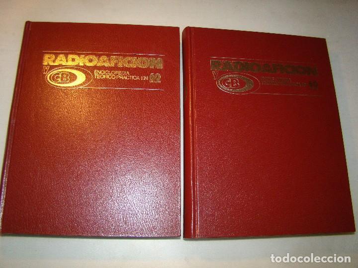 RADIOAFICIÓN Y CB - ENCICLOPEDIA TEÓRICO PRACTICA EN 60 LECCIONES - MARCOMBO (Radios, Gramófonos, Grabadoras y Otros - Radioaficionados)