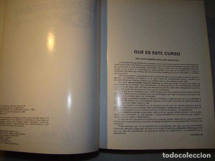 Radios antiguas: RADIOAFICIÓN Y CB - ENCICLOPEDIA TEÓRICO PRACTICA EN 60 LECCIONES - MARCOMBO - Foto 4 - 62027848
