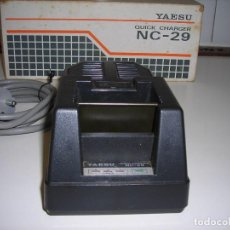 Radios antiguas: CARGADOR (DE SOBREMESA) AUTOMÁTICO DE BATERÍAS YAESU NC – 29 (MADE IN JAPAN).. Lote 63523440
