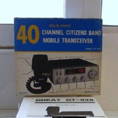 Radios antiguas: EMISORA RADIOAFICIONADO SOLID STATE GREAT GT-828,NUEVA. Lote 145369685