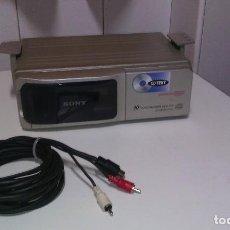 Radios antiguas: CARGADOR DE CD . SONY X10 COMP. Lote 67335861