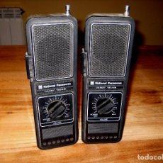Radios antiguas: WALKIE-TALKIE NATIONAL PANASONIC RJ-78E. 2 UNIDADES. 27 MHZ. Lote 69075353