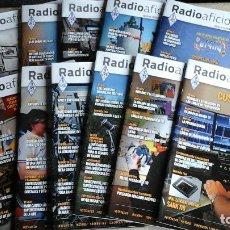 Radios antiguas: REVISTAS RADIOAFICIONADOS - 2016 AÑO COMPLETO. Lote 71191813